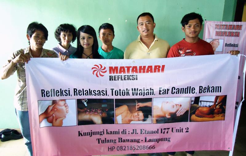 Franchise Refleksi di Kota Lampung