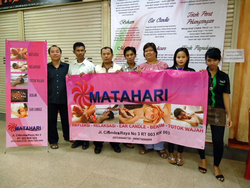 Franchise Refleksi di Kota Tangerang